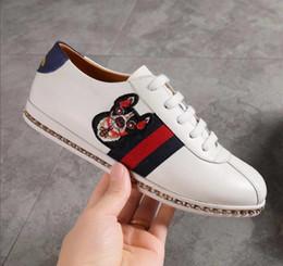 90fa45b566a3b Top-Qualität Turnschuhe Luxus Frauen Schuhe Frau Casual Schuhe aus echtem  Leder Marke Dame Schuh Anmails Farbe Marke Frau Verkauf
