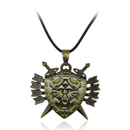 China Hot Game Jewelry Legend of Zelda Butterfly Charming Pendant Necklace Zelda Triforce Navi Necklace Papillon Necklace Men Gift suppliers