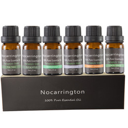 online shopping In Stock Nocarrington Beauty Aromatherapy Top Essential Oil Pure Therapeutic Grade Basic Sampler Gift Set Kit