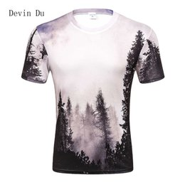 $enCountryForm.capitalKeyWord Australia - 2017 New Arrivals Mens 3d T-shirt Print Winter Forest Trees Quick Dry Summer Tops Tees Brand Tshirts Plus Size