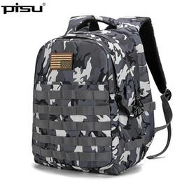 $enCountryForm.capitalKeyWord Canada - PISU 2018 New Camouflage Backpack USB Design Backpack Men male Student Bag For Teenagers Travel Daypack
