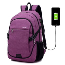 Train Usb UK - 4 Colors Portable Large Capacity Packag Waterproof Fitness Gym Bag Men Women Foldable Training Fitness Backpack With USB 30