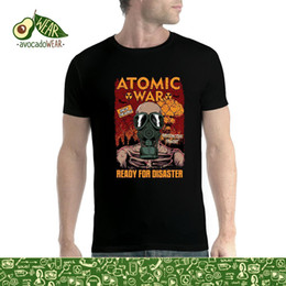 Radiation Clothes NZ - Atomic War End Of The World Radiation Gas Mask Mens T-shirt Xs - 5xlstreetwear Funny Print Clothing Hip - Tope Mans T-shirt Tops