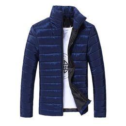 Chinese  Q E J 2018 High Quality Men's Winter Jacket Brand Famous Clothing Down Jacket Parka Ultralight Down Coat M-XXXL manufacturers
