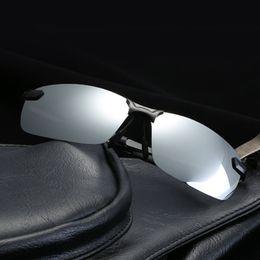 $enCountryForm.capitalKeyWord Australia - Men Sport Polarized Sunglasses Men Women Classic Outdoor Sports Rimless Metal Polarized bicycle Sunglasses Male Goggle Travel Glasses UV400
