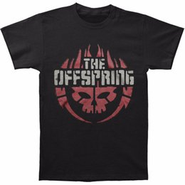 Logo Shirts For Men Canada - Summer Sleeves Crew Neck Short-Sleeve Office Offspring Men's Skull Logo Tee T-shirt Size S To 3XL Tee For Men