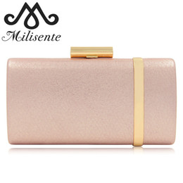 fashion satin evening bag UK - Milisente 2018 New Arrival Evening Bag Women Evening Clutch Bags Top Quality Female Clutches Ladies Wedding Bag