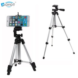 Discount mobile phone holder tripod - Professional Camera Tripod Mount Stand Holder for iPhone Samsung Mobile Phone UM