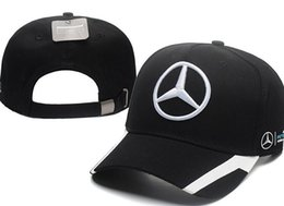 Golf hat new online shopping - 2018 New Sale Good Quality bone gorras Snapback Hat F1 Champion Racing Sports AMG Automobile Trucker Men Hats Adjustable Golf Cap Sun Hat