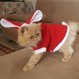 $enCountryForm.capitalKeyWord Canada - Cute Cat Clothes Easter Rabbit Animals Suit Clothing For Cats Costume Fleece Warm Pet Cat Clothes Coat Suit 29S2
