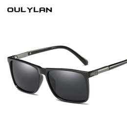 sunglasses for eyeglasses 2019 - Oulylan Polarized Sunglasses for Men Brand Designer Vintage Driving Sun Glasses Male Driver Eyeglasses Goggles cheap sun
