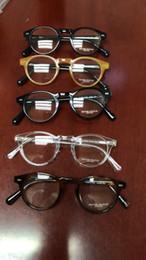 be1be8b06ff New Oliver Peoples 5186 Plank Spectacle Frame eyeglasses frames for Men  Women Myopia Brand Designer Vintage Glasses frame With Original Case