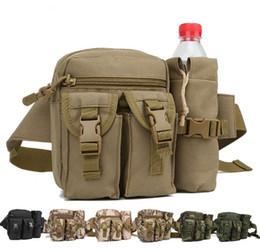 Vente en gros Usine en gros multi-usages camouflage poches bouilloire poches d'équitation en plein air armée fan sac poches tactiques
