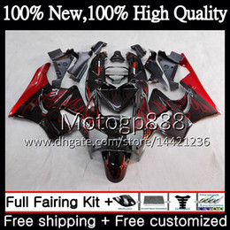 cbr919 fairings UK - Body For HONDA CBR 919RR CBR900 RR Red flames CBR 900RR CBR919RR 98 99 50PG5 CBR 919 RR CBR900RR CBR919 RR 1998 1999 hot Fairing Bodywork