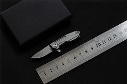 High Quality Knife Titanium NZ - MIKER Mini pocket knife titanium alloy handle D2 blade outdoor portable high quality Tactical folding knives Survival EDC tools