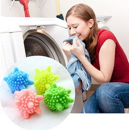 eco wash balls wholesale UK - 1 Pc New Magic Clean Washing Laundry Dryer Balls Anti Winding Washer Wash Balls Home Decoration