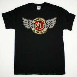 Reo Speedwagon Tour 1981 Tee Camiseta preta Hard Rock Boston Styx Kansas