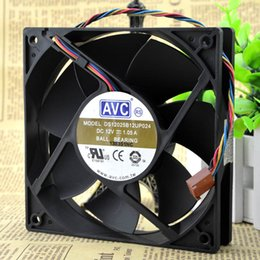 12 Cm Fan Australia - For super large air volume AVC DS12025B12UP024 12V 1.05A 12 cm 4-wire PWM speed control fan