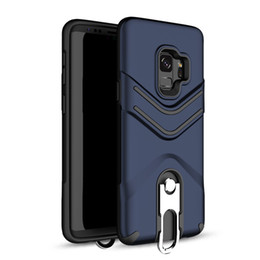 $enCountryForm.capitalKeyWord UK - Kickstand Phone Case with Hanging Ring Hybrid Armor Back Cover for LG Aristo 2 ZTE Z982 Samsung J7 2017 J3 2017 Oppbag