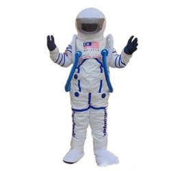 Discount space suits - 2019 High quality Space suit mascot costume Astronaut mascot costume Free Shipping