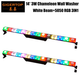 Stage lighting truSSeS online shopping - 2XLot Freeshipping x3W White Beam Wash IN1 Pixel Led Wall Washer Light Stage Truss Background Decoration Using Daisy Chain RGB