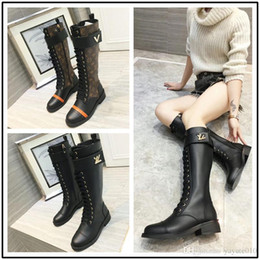 Poly Microfiber Fabric NZ - Designer Luxury brand winter high boots women shoes cow leather microfiber rivet zipper decoration knee high boots women knight boots