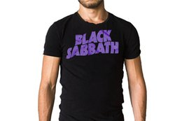 Wholesale Brand Printed Cotton T Shirt New Style Black Sabbath Master Of Reality Crew Neck Short Sleeve Mens Tee Shirt