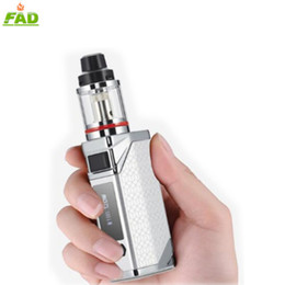 big e cigarettes NZ - E cigarette big box mod vape 80w mods starter kit 3.5ml oil vaporizer with led display screen 2200mah battery