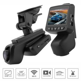 China Hidden type WiFi Car DVR Camera Dash Cam Sony IMX323 Super Night vision DVR Video Recorder 2.45 inch IPS Screen Full HD 1920*1080P 30fps suppliers