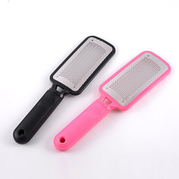 China Large Foot Rasp Callous Remover Pedicure Tools Durable Stainless Steel Hard Skin Removal Foot Grinding Tool Foot File Skin Care DHL 3006083 suppliers