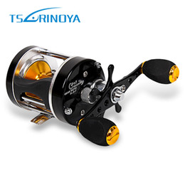 Mini fly fishing reels online shopping - TSURINOYA Mini Right Left Hand Casting Fishing Reel Full Metal Sea River Ocean Boat Gear TR500 MODEL