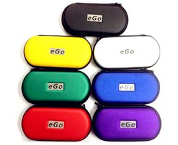 Ego T Bags Australia - EGO Electronic cigarette Zipper box case bag package with Zipper carrying for E cig Joye eGo-T ego--tank E-cigarette ce4 ce5