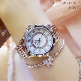 Luxury Crystal Women Quartz Watch Australia - Original Creative Ladies Bracelet Watch 2017 Top Brand Luxury Crystal Wrist Watches Women Fashion Quartz Watch