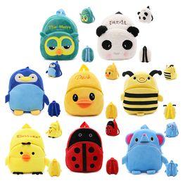 3D Cartoon Plush Children Backpacks kindergarten Schoolbag Animal Kids  Backpack Children School Bags Girls Boys Backpacks 780704e3df96f