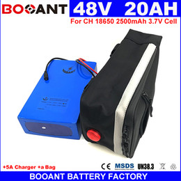 Motor Bicycles Australia - 13S 8P E-bike Lithium Battery pack 48V 20AH For Bafang 500W 800W 1200W Motor Electric Bicycle Battery 48V +a Bag +5A Charger