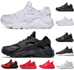 Chinese  Hot sale Huarache 4.0 1.0 running shoes Triple White Black red yellow gray mens and women designer Shoes sports Sneakers size US 5.5-11 manufacturers