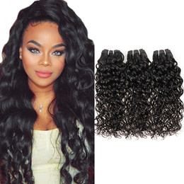 Best cheap hair waves online shopping - Ishow Human Hair A Best Brazilian Water Wave Human Hair Cheap Remy Hair Weft Bundles inch Shipping Free