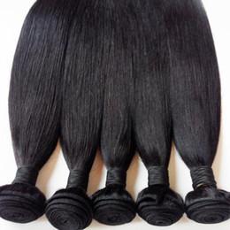 $enCountryForm.capitalKeyWord Australia - 7A Brazilian virgin Hair Bundles Malaysian Peruvian Mongolian Indian remy Hair Extension Straight 3pcs Russian European human hair weft