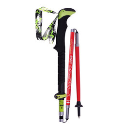 $enCountryForm.capitalKeyWord NZ - 2018 new hiking carbon fiber ultra light collapsible ski sticks cane 1 double