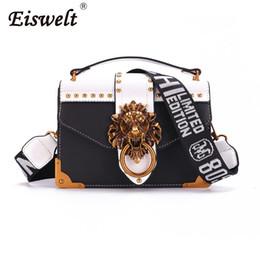 Lion mini online shopping - EISWELT Metal Lion Head Mini Small Square Pack Shoulder Bag Crossbody Package Clutch Women Designer Wallet Handbags Bolsos Mujer