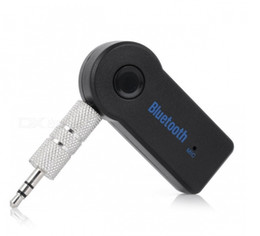 Discount hands free mic for car - Bluetooth Music Audio Stereo Adapter Receiver for Car 3.5mm AUX Home Speaker MP3 Car Music Sound System Hands Free Calli