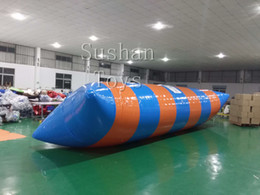 Pumping Water Air Australia - Free Shipping 8m*3m Inflatable Blob Jumping Water Air Tarampoline Catapult Blob Inflatable Jumping Pillow And Send A Pump