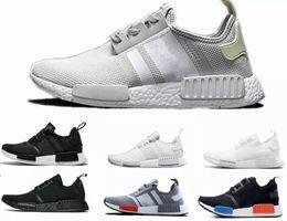 9bc9087e97ec9 2018 NMD R1 OREO Runner NBHD Primeknit OG Triple black White camo Running shoes  For Men Women beige Outdoor Sports Shoe EUR 36-45