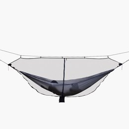 Sports & Entertainment Camp Sleeping Gear Ultralight Portable Hammock Mosquito Net For Outdoor Nylon Material Anti-mosquito Nets With Super Size To Enjoy High Reputation At Home And Abroad