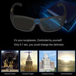$enCountryForm.capitalKeyWord NZ - Original Design Sunglasses LCD Polarized Lenses Transmittance Darkness Adjustable Electronic Control Lenses for Driving Fishing