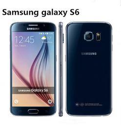 Samsung Galaxy S6 SM-G920 G920A G920F G920P G920V Original Desbloqueado 3G4G 16MP Câmera Octa Núcleo 5.1 '' 32GB ROM 3GB de RAM telefone recondicionado em Promoção
