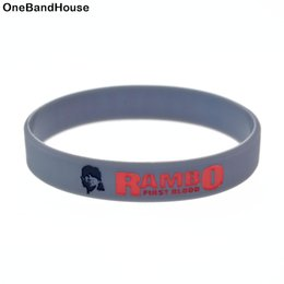 Wear Bracelet Australia - Wholesale 100PCS Lot Stallone Silicone Wristband A Great Way To Show Your Idol By Wear This Kind Of Bracelet