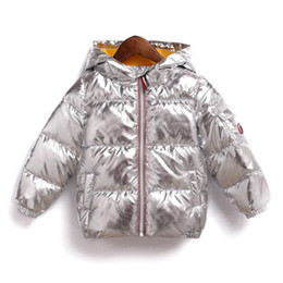 0d057933f6a8 Children Coats jaCket online shopping - Kids Bread Thick hooded jacket  winter Down coat baby Boys