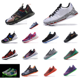 a0ce092c0f2c Cheap Men what the KD VIII 8 low tops basketball shoes Floral Flower Aunt  Pearl Purple BHM Blue KD8 Kevin Durant sneakers boots kds for sale