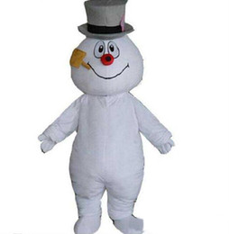 snowman kits Canada - 2018 High quality MASCOT CITY Frosty the Snowman MASCOT costume anime kits mascot theme fancy dress